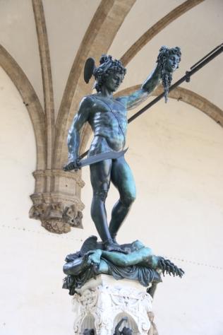 Perseus beheading Medusa