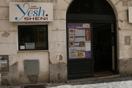 Jewish Ghetto in Rome from 1540-1870 Now a modern Jewish cafe