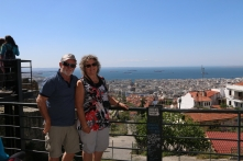 Looking over the Bay of Thessaloniki